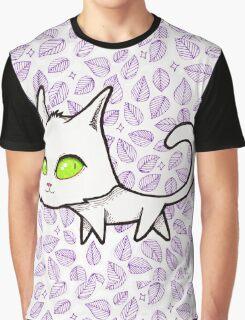 Green eye kitty Graphic T-Shirt