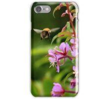 Bumble bee on a mission iPhone Case/Skin