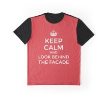 Look behind the facade! Graphic T-Shirt