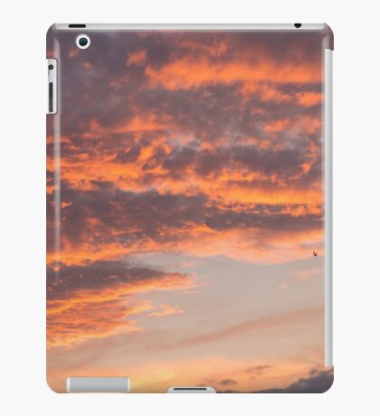 Epic Clouds at Sunset iPad Case/Skin