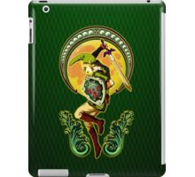 Triforce the mighty Link iPad Case/Skin