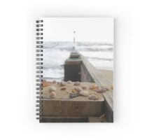 Tranquil Sea Scene Spiral Notebook