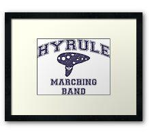 Hyrule Marching Band Framed Print