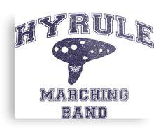 Hyrule Marching Band Metal Print