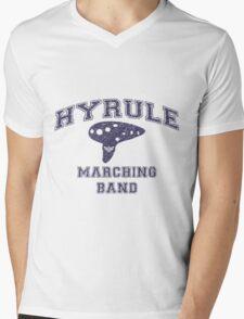 Hyrule Marching Band Mens V-Neck T-Shirt