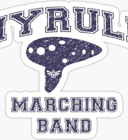 Hyrule Marching Band Sticker