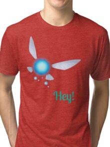 Navi-Hey! Tri-blend T-Shirt
