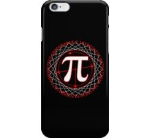 Pi  Sign Drawing White iPhone Case/Skin