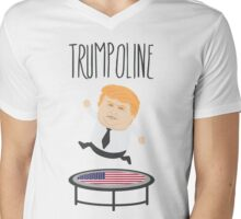 Trumpoline Donald Trump Mens V-Neck T-Shirt