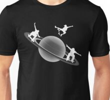 Skateboarding Saturn Unisex T-Shirt