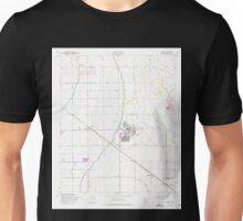 USGS TOPO Map Arizona AZ Higley 311751 1956 24000 Unisex T-Shirt