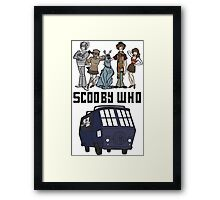 Scooby Who Framed Print
