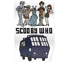 Scooby Who Poster