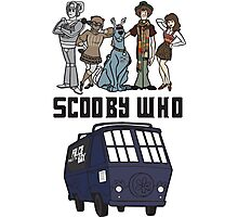 Scooby Who Photographic Print