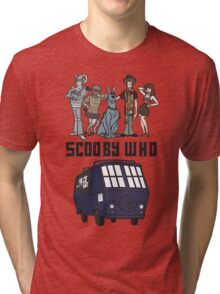 Scooby Who Tri-blend T-Shirt