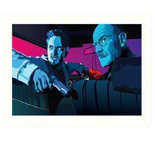 Jesse and Walter Art Print