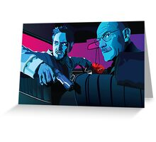 Jesse and Walter Greeting Card