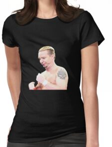 G.O.A.T James Ellsworth Womens Fitted T-Shirt
