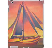Sienna Sails at Sunset iPad Case/Skin