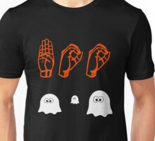 Halloween Boo - American Sign Language Unisex T-Shirt