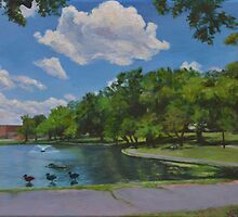 Meadowland Pond by Amanda Burns-Elhassouni