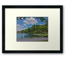Meadowland Pond Framed Print