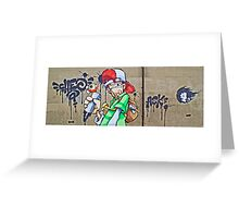 The scribbler by Cheo Greeting Card