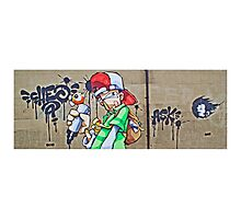 The scribbler by Cheo Photographic Print