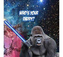 gorilla is your father Photographic Print