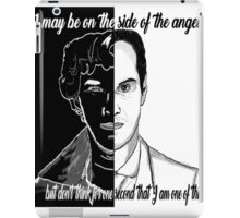 One of the angels iPad Case/Skin