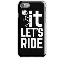 Motorrad T-shirt iPhone Case/Skin