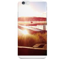 Camp Sunrise iPhone Case/Skin