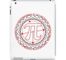 Pi  Sign Drawing iPad Case/Skin