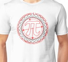 Pi  Sign Drawing Unisex T-Shirt