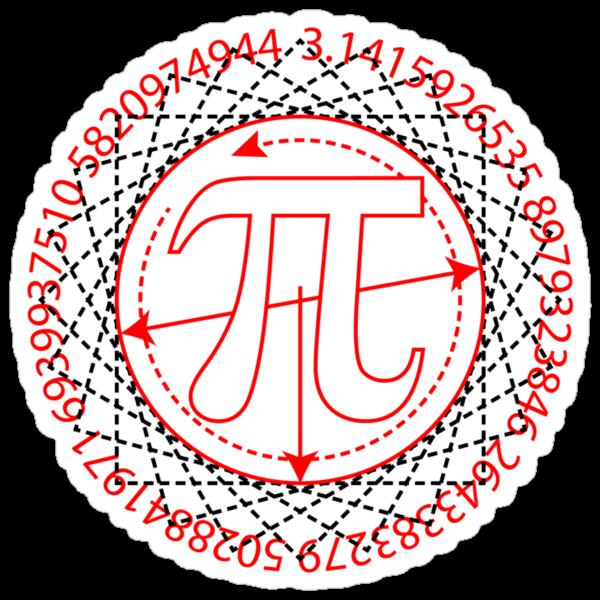 Pi  Sign Drawing by SymbolGrafix