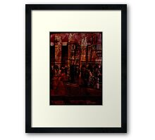 Architectural Oddity Framed Print