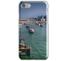 Margate Harbour From The Harbour Arm iPhone Case/Skin