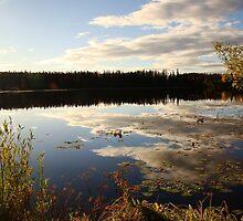 Clouds in a Lake by Jennifer de Boer
