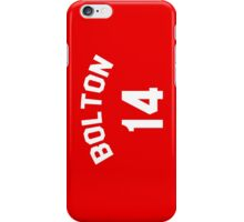 High School Musical: Bolton Jersey iPhone Case/Skin