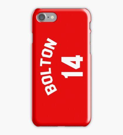 High School Musical: Bolton Jersey iPhone Case/Skin
