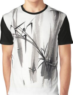 'after the rain' Original ink wash painting Graphic T-Shirt
