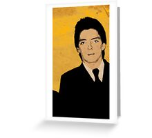 The Jam, Bruce Foxton-3 Greeting Card