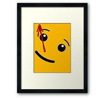 Watchmen (LEGO) Framed Print