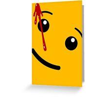 Watchmen (LEGO) Greeting Card