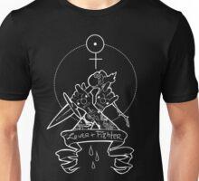 Taurus Geometry Tattoo Design White Unisex T-Shirt