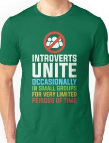 Introverts Unite Unisex T-Shirt