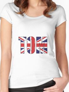 Tom (UK) Women's Fitted Scoop T-Shirt
