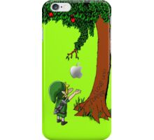 Cute Young Link Zelda With An Apple tree iPhone Case/Skin