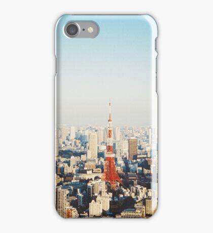 Tokyo Cityscape Shot on Film (Porta 400) iPhone Case/Skin