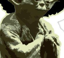 Yoda Jedi Pimps Sticker